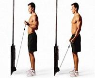 Техника выполнения упражнений на бицепс в кроссовере