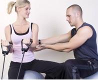 Как заниматься с эспандером для грудных мышц?