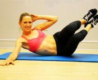 Простейшие упражнения на укрепление мышц живота