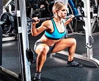 Эффективная тренировка для четырёхглавой мышцы бедра