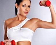 Комплекс эффективных упражнений для прокачки рук девушке
