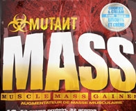 Состав и дозировка углеводно-белкового гейнера Mutant Mass