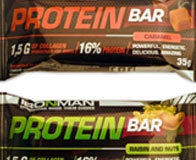 Обзор протеинового батончика ProteinBar от Ironman