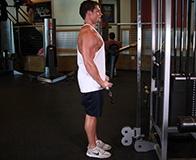 Комплекс упражнений на бицепс и трицепс