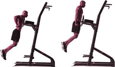 Правильное выполнение упражнения: небольшой наклон вперед