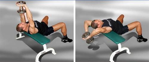 Прокачка грудных мышц в тренажерном зале