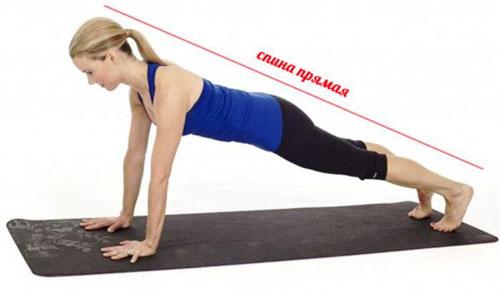 Планка – это эффективное упражнение, при выполнении которого задействовано множество мышц. Облегчить его можно, оперевшись на локти