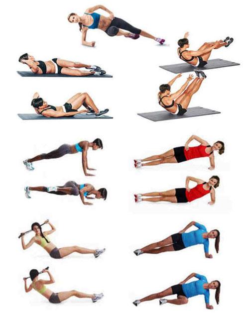 Как уменьшить талию упражнения в домашних условиях
